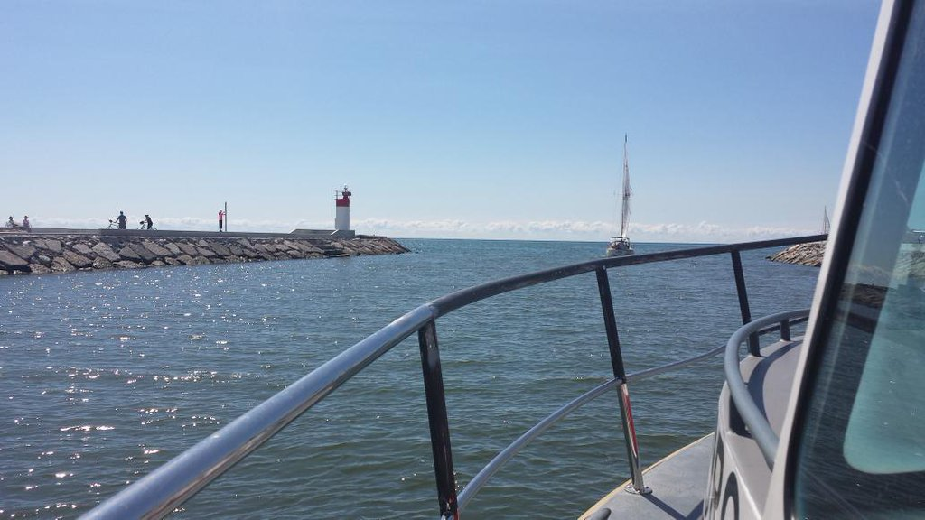 Outbound of Frenchman's Bay